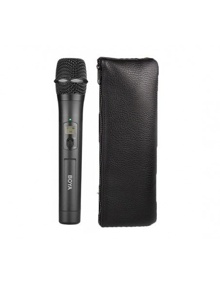 BOYA Micrófono de mano inalámbrico UHF BY-WHM8