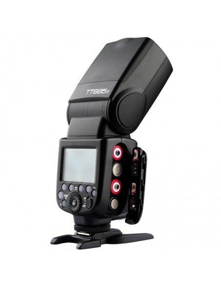 Flash Godox TT685 Fuji TTL HSS Gn60 receptor interno 2.4Ghz. Difusor gratis