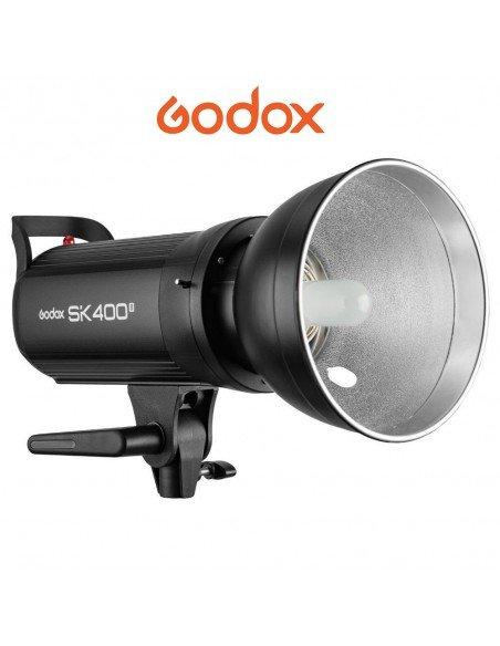 Flash Godox SK400II con receptor X system 2.4G integrado