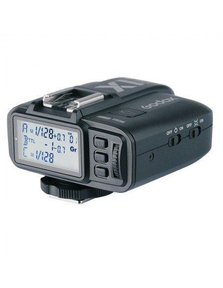 Kit 2 Flashes Godox SK400II 2.4G y transmisor X1