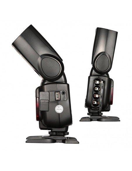 Kit 2 Flashes Godox TT685 Olympus y Panasonic TTL HSS Gn60 y transmisor X1 2.4Ghz
