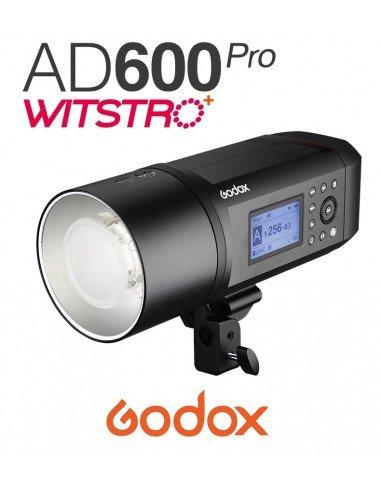 Flash autónomo Godox AD600Pro con montura Bowens