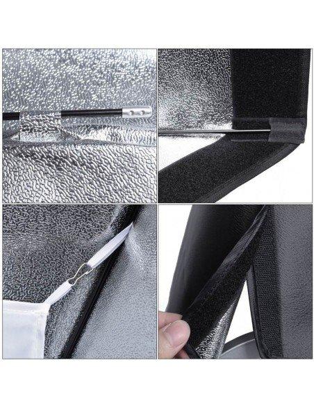 Ventana Strip Godox Premium 30x120cm con adaptador Bowens