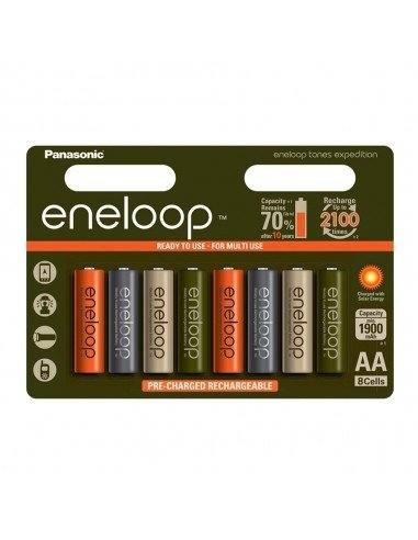 Panasonic Eneloop Tones Expedition | Edición limitada