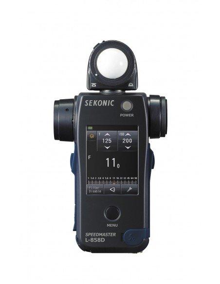 Fotómetro Sekonic L-858D SpeedMaster