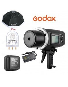 Flash Godox AD600B TTL HSS con montura Bowens + Octa 95cm