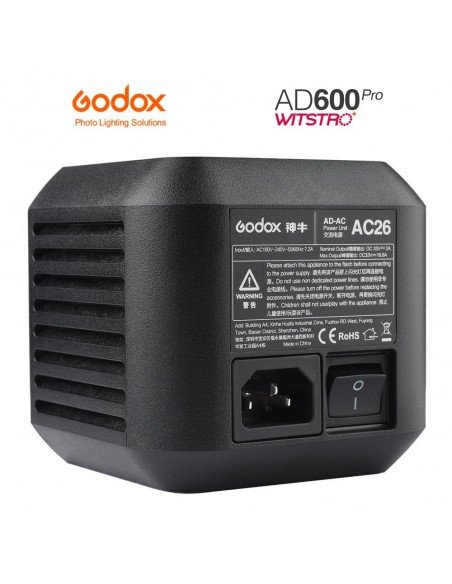 Adaptador de red para Godox AD600 Pro