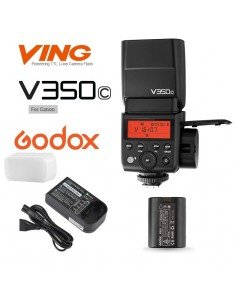 Flash Godox V350C wireless 2.4Ghz para Canon