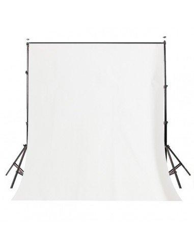 Fondo de estudio de tela super blanco 2x3 mts