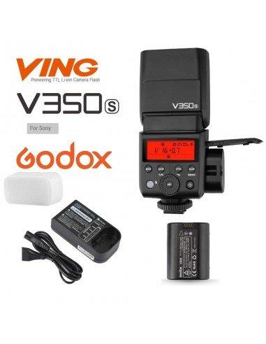 Flash Godox V350S wireless 2.4Ghz para Sony