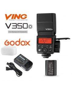 Flash Godox V350O wireless 2.4Ghz para Olympus y Panasonic