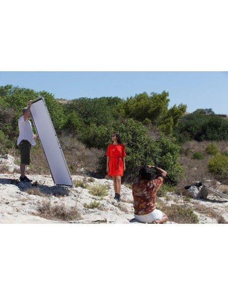 LASTOLITE SKYLITE 1.1 X 2 M Kit de sistema de paneles intercambiable con marco de aluminio