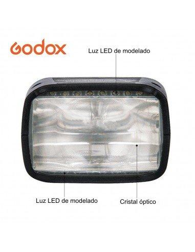 Cabezal de flash Speelite para Godox AD200