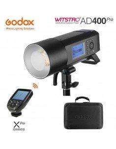 Kit Flash autónomo Godox AD400 Pro y transmisor XPro