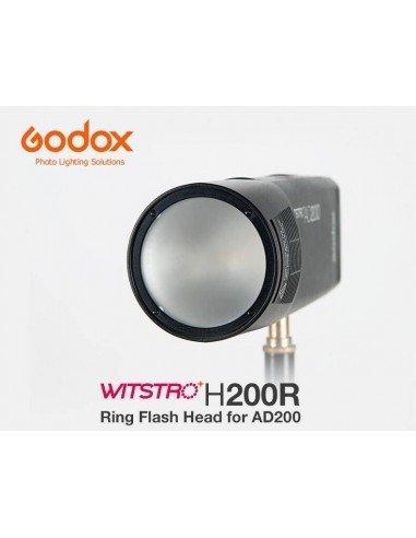 Cabezal redondo para flash Godox AD200