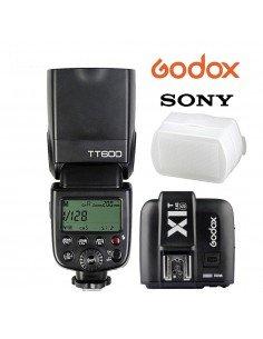 Flash manual Godox TT600S SONY HSS Gn60 receptor interno 2.4Ghz y transmisor X1