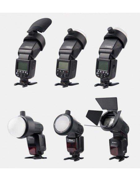 Adaptador de accesorios magnéticos para flash de mano