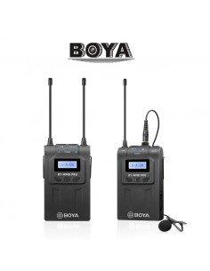 Kit micrófono inalámbrico UHF Pro Boya 1TX+1RX