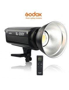 Foco LED Godox SL200Y Luz cálida 3300K