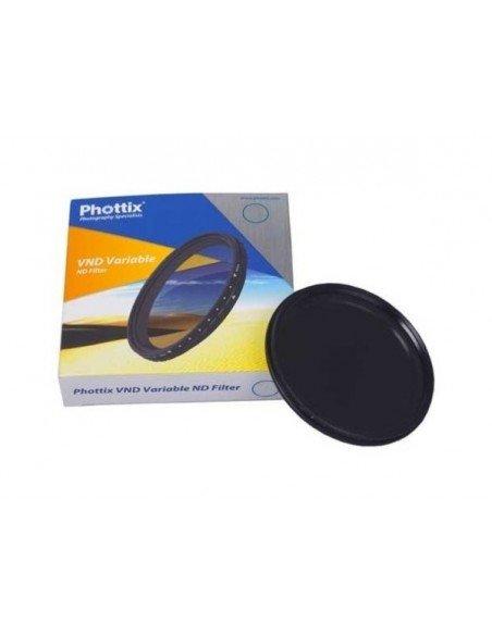 FILTRO ND-Variable Phottix densidad neutra 77mm
