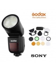 Kit Godox V1 Sony con accesorios