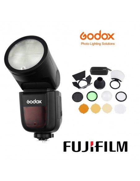 Kit Godox V1 Fuji con accesorios