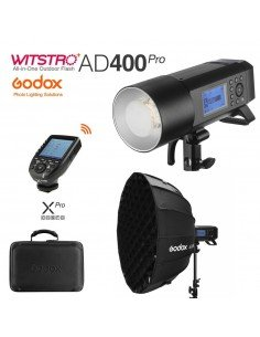 Kit Godox AD400 Pro con transmisor XPro y Softbox