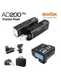 Flash Godox AD200 Pro y transmisor X2