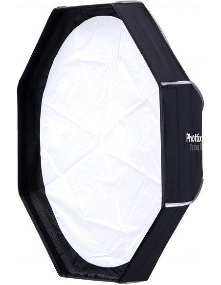 Kit Ventana Phottix Pro Easy-Up HD Octa 80cm con Grid y rótula Varos XS