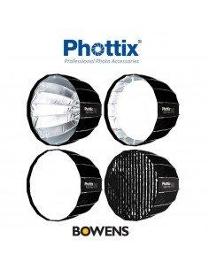 Ventana rápida Phottix Raja Deep Octa 80cm para Bowens