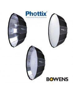 Ventana rápida Phottix Raja Octa 150cm montura Bowens