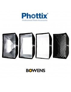 Ventana rápida Phottix Raja 60x90cm montura Bowens