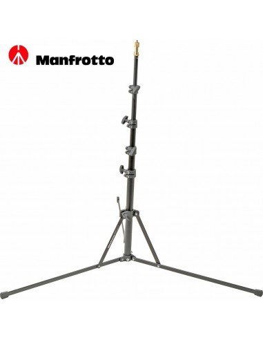 Manfrotto - Pie de estudio Nano. 5 secciones. Altura 190cm. Negro