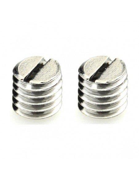 """Adaptador rosca 1/4"""" hembra a 3/8"""" macho TN-02 para tripode (2 unidades)"""