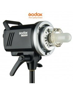 Flash Godox MS300 con receptor X 2.4Ghz