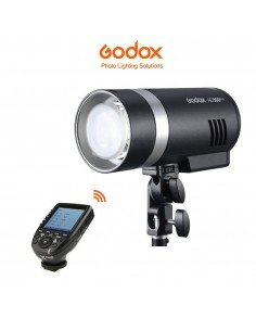 Flash Godox AD300Pro y transmisor XPro