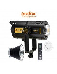 Foco híbrido Led-Flash Godox FV200 con HSS y receptor X 2.4Ghz