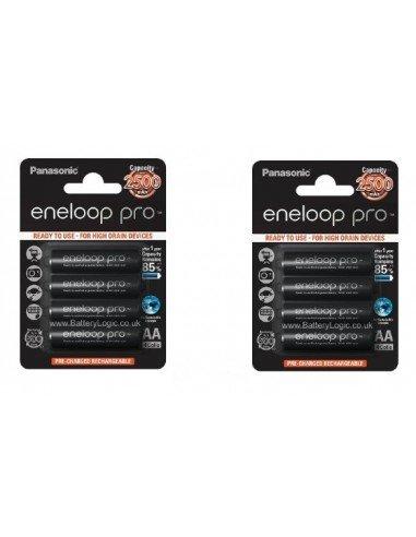 Pack 8 baterías recargables Panasonic...