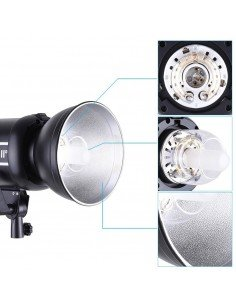 Anillo adaptador ventanas Phottix a flashes estudio Bowens