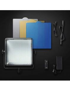 Set de Luz Continua Walimex 3 x 25W con Mesa de Fotografía