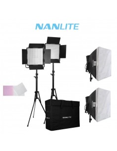Kit 2 paneles LED Nanlite...