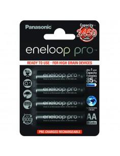 Pack 4 baterías recargables...