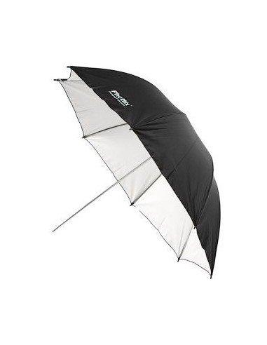 Paraguas reflectante Phottix interior blanco, exterior negro 101cm