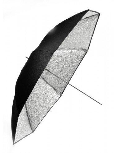 Paraguas Portalite 85cm plata