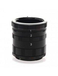 Tubos de extension para cámaras Canon
