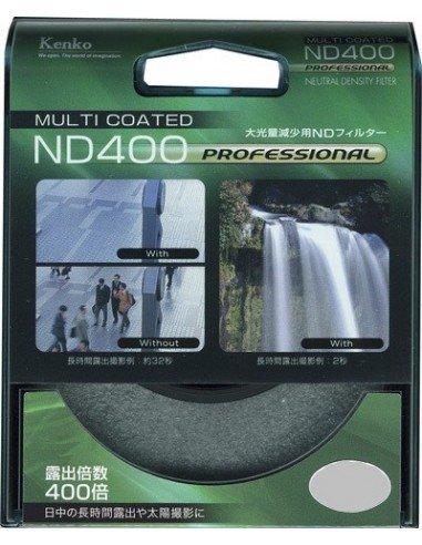 Filtro Kenko ND400 MC 82mm con tratamiento multicapa