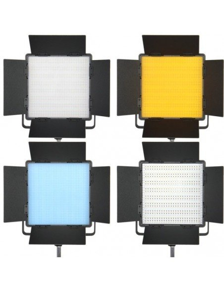 Panel led bi-color CN-600CSA con aletas