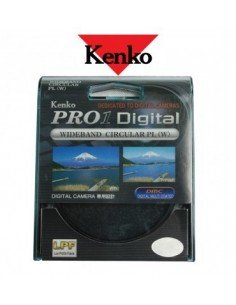 Filtro Kenko CPL Pro 1D Ultra Slim 58mm polarizador circular