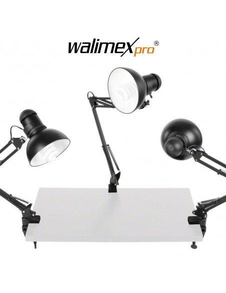 Set 3 lámparas Walimex Daylight 125 luz día