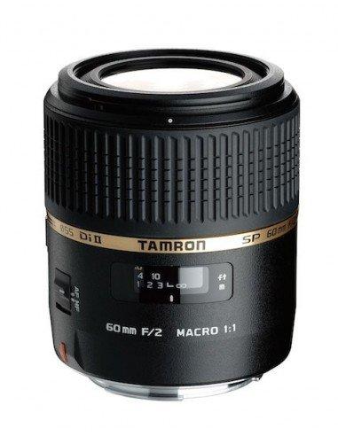 Objetivo SP AF 60 mm F/2.0 Di II LD (IF) MACRO 1:1 Canon